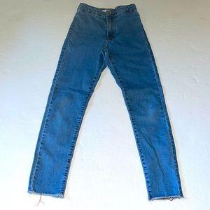 Zara kids Skinny Jeans w raw hem.